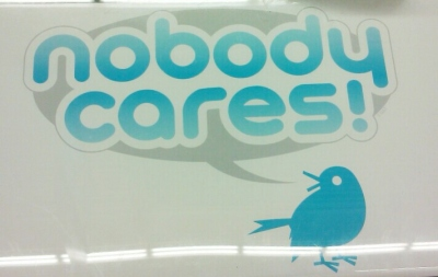 Twitter Nobody Cares Shirt